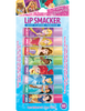 Lip Smacker | Disney Princess Lip Balm Party Pack - products front facing carded, rendering, with no background