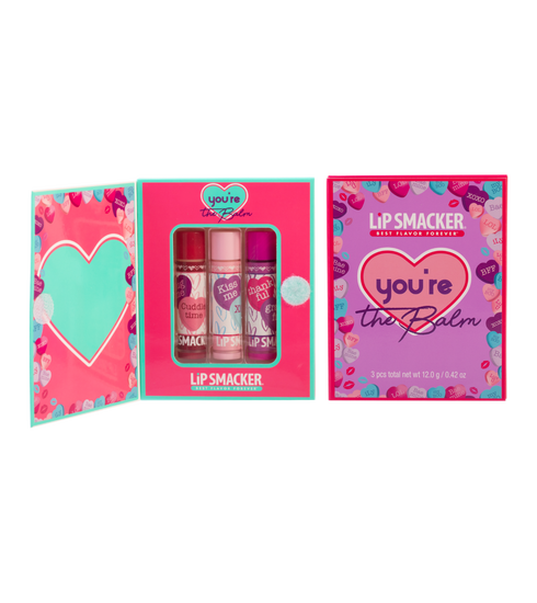 You're the Balm Storybook Lip Balm Collection | Lip Smacker | Product front facing one open and one closed, with no background.