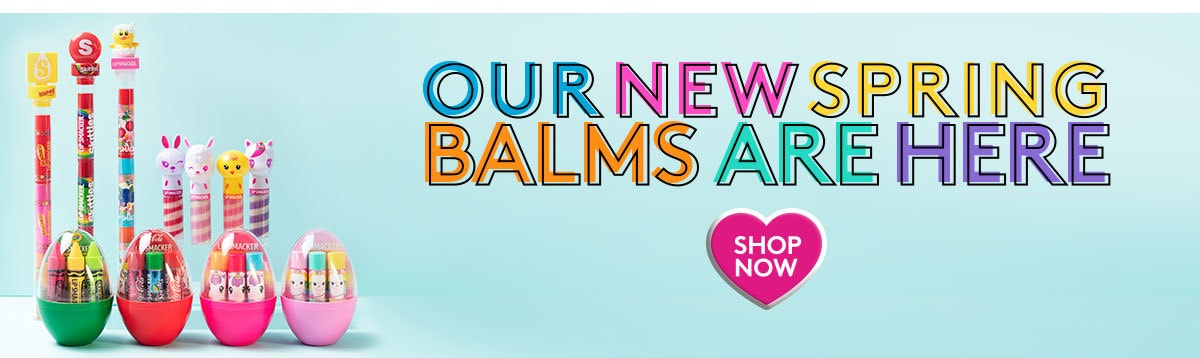 Our New Spring Balms Are Here! + Free Crayola Lip Balm Trio with any purchase | Use Code: Crayola | Shop Now!