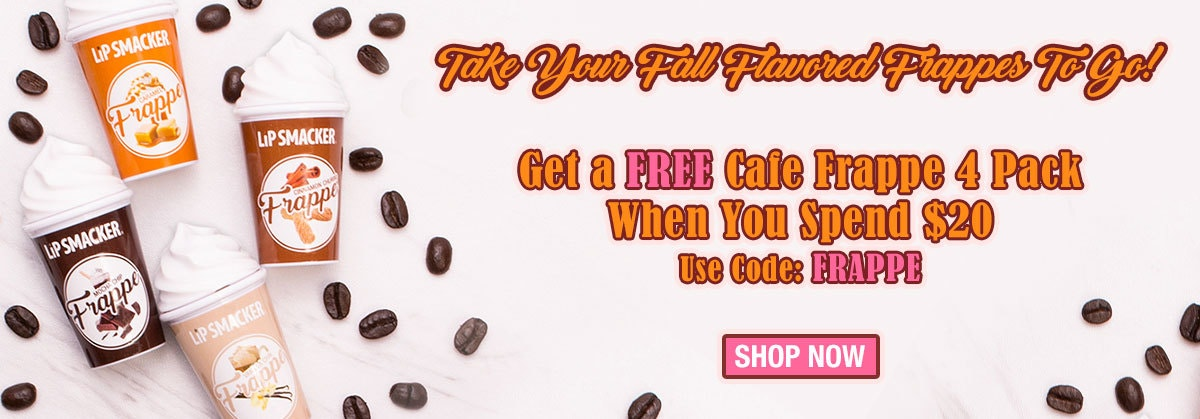 Get a Free Cafe Frappe 4 Pack when you spend $20 | Use Code: Frappe | Shop Now!