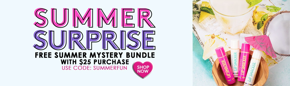 Summer Surprise! Free Summer Mystery Bundle With $25 Purchase - Use Code: SUMMERFUN