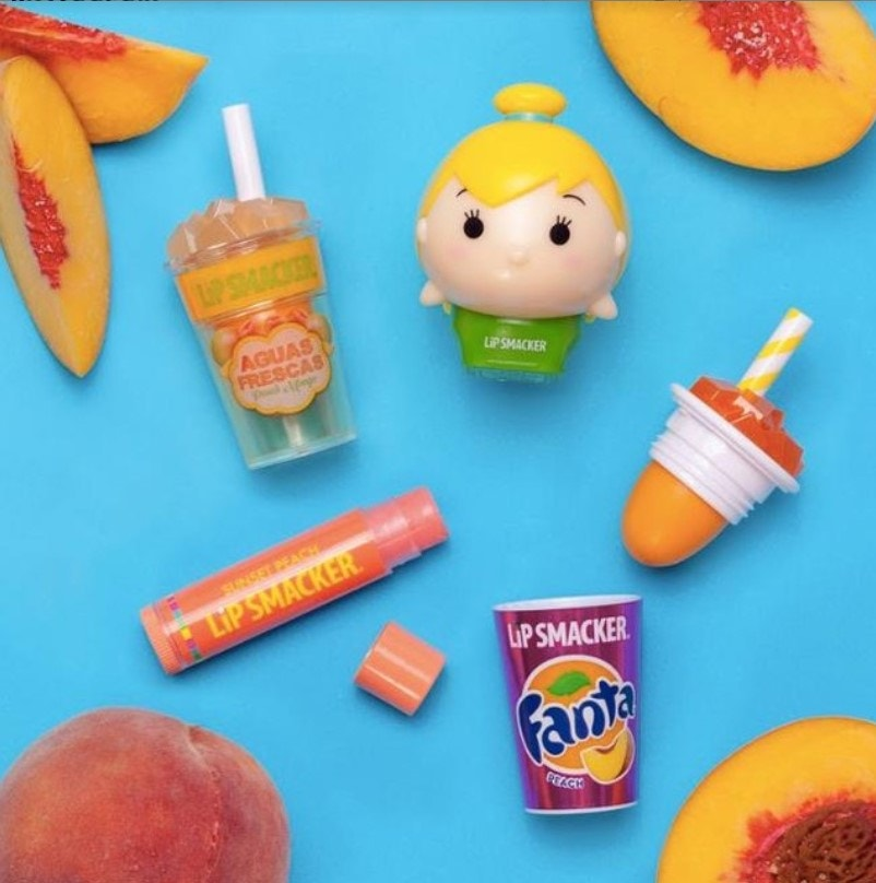 Peach Flavored Lip Balms, Tsum Tsums, and Beverage Cups
