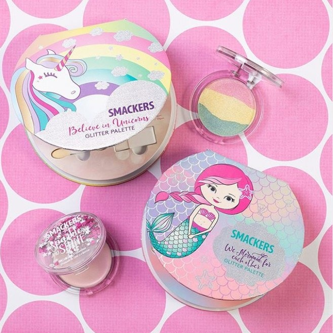 Kids Makeup Palettes Unicorn and Mermaid