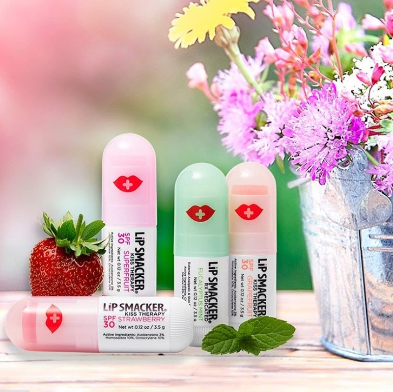 Kiss Therapy Lip Balms in Mint Flavor